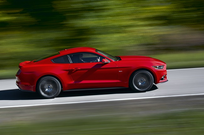 Ford Mustang 2014 lateral