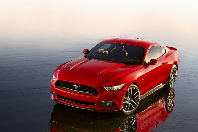 Ford Mustang 2014 morro