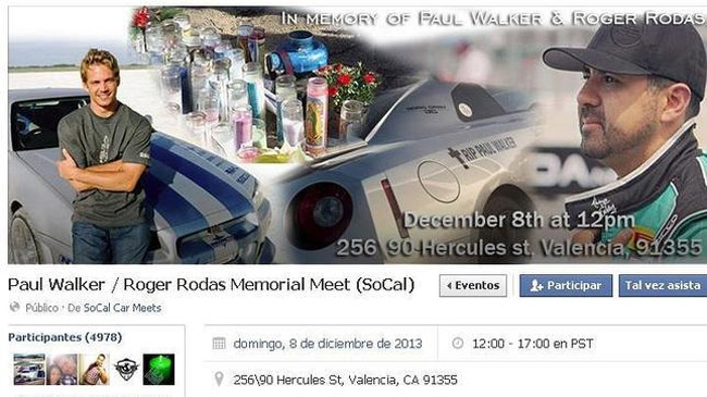 Paul Walker / Roger Rodas Memorial Meet (SoCal)