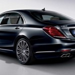 Mercedes S600 trasera