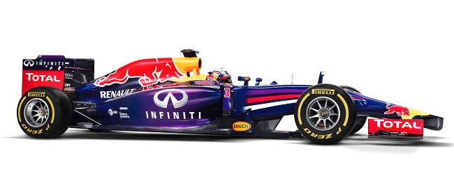 Red Bull RB10 lateral