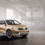 Lincoln MKX Concept frontal