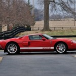 subasta Ford GT lateral