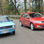 COMPARATIVA: Volkswagen Polo 2014 vs Volkswagen Polo 1975