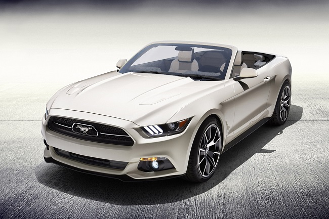One-of-a-Kind 2015 Ford Mustang 50 Years Convertible