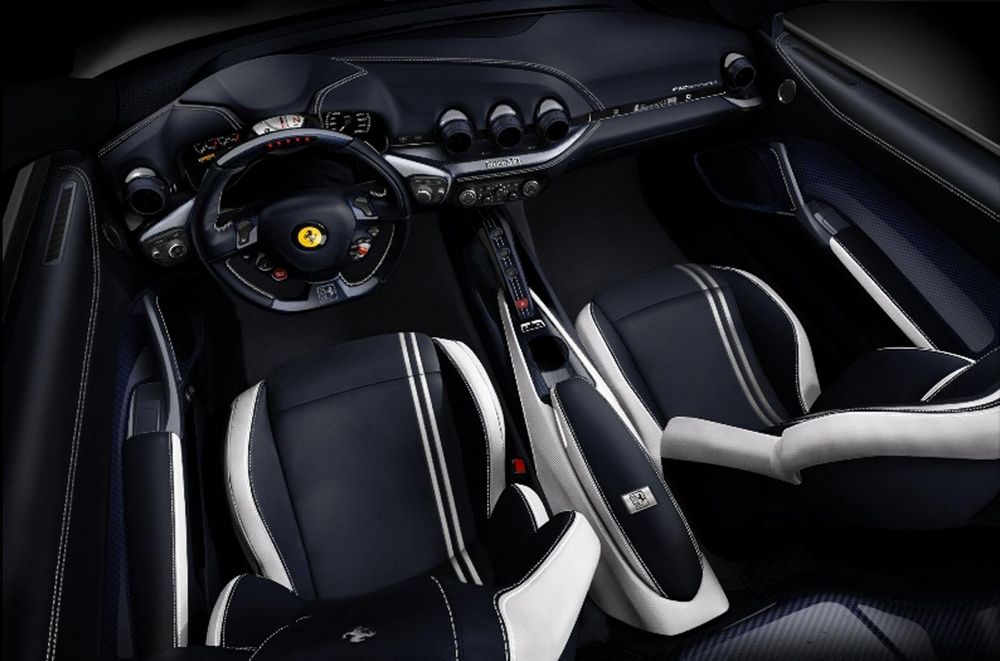 Ferrari F12berlinetta Polo interior