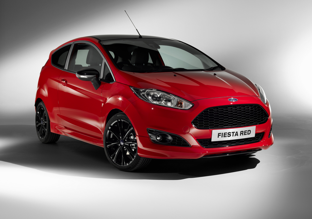 Ford Fiesta Red Edition Black Edition (15)
