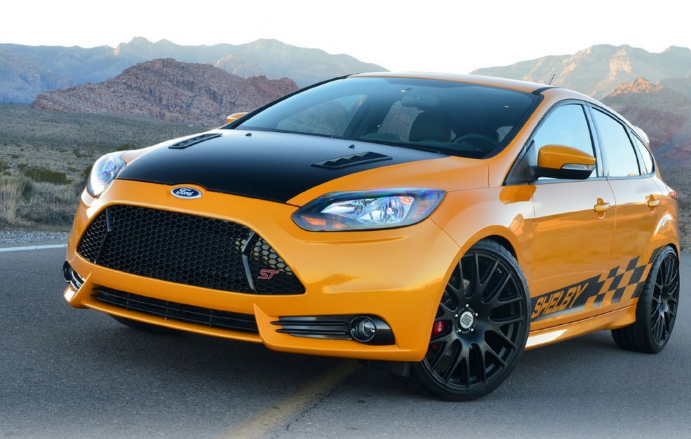 Ford Focus Shelby Concept 2013