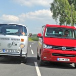 COMPARATIVA: Volkswagen T2 'Bulli' vs California