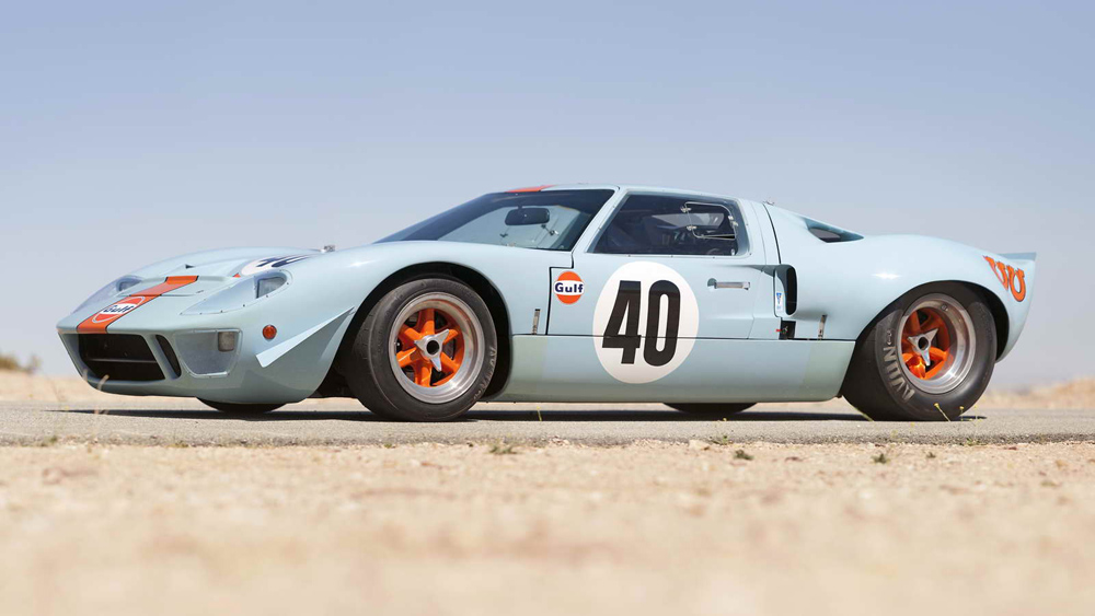 1968 Ford GT40 Gulf Mirage Lightweight Racing Car