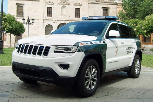 Jeep Grand Cherokee 2013 Guardia Civil