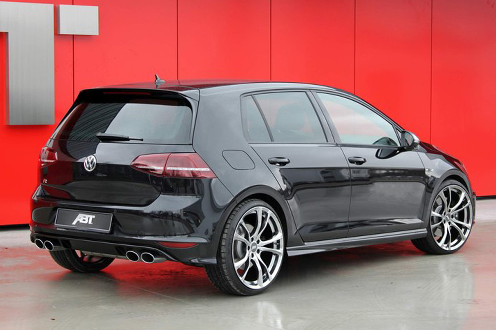 volkswagen golf r abt 400 cv para superar los 300 km h. Black Bedroom Furniture Sets. Home Design Ideas