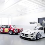 300 SEL 6.8 AMG and SLS AMG GT3