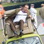 Rowan Atkinson (Mr Bean) sufre un accidente en el Goodwood Revival