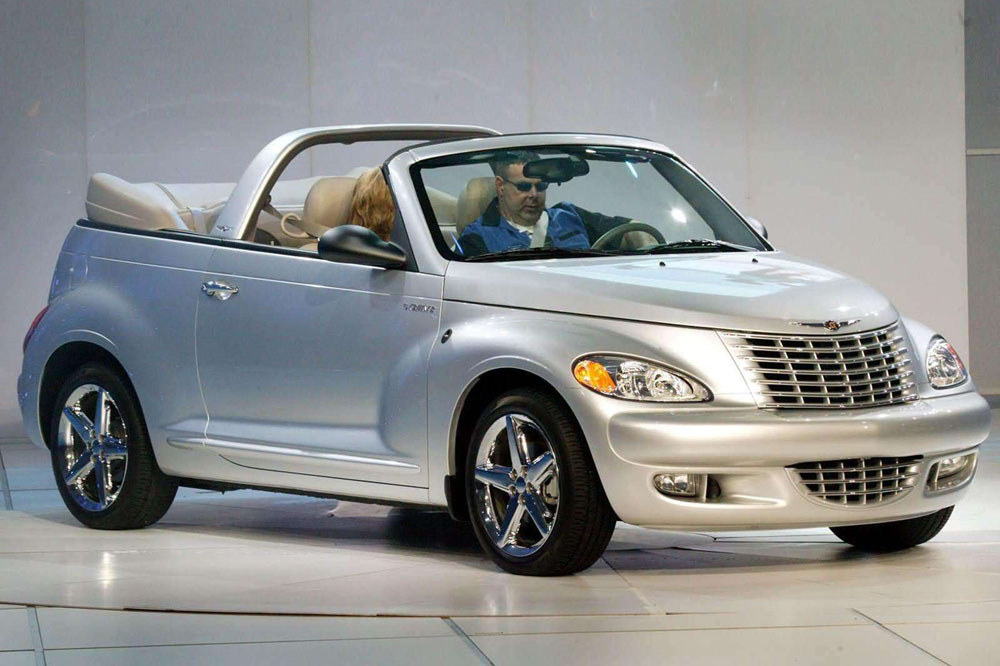 10 peores coches Top Gear Chrysler PT Cruiser Convertible