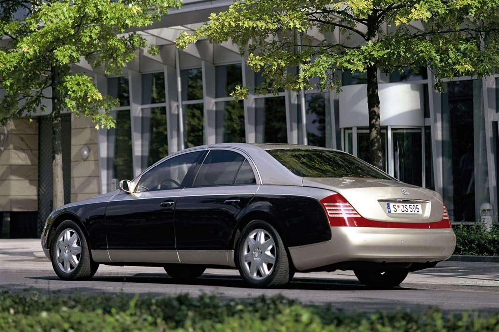 10 peores coches Top Gear Maybach 62