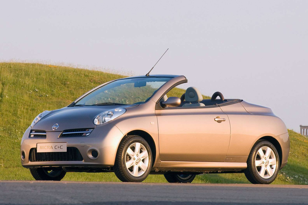 10 peores coches Top Gear Nissan Micra C+C