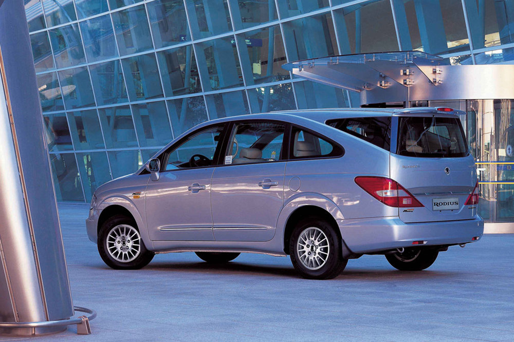 10 peores coches Top Gear Ssangyong Rodius