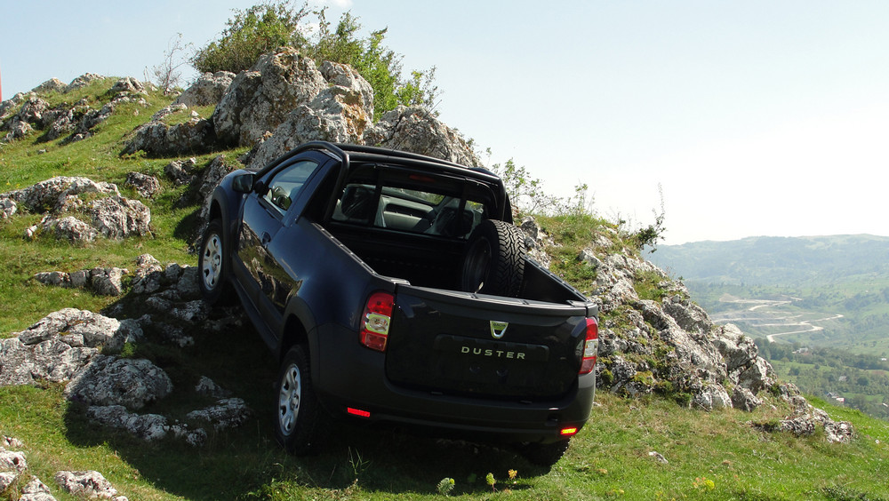 Dacia Duster Pick-up (7)