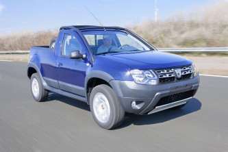 Dacia Duster Pick-up PORTADA