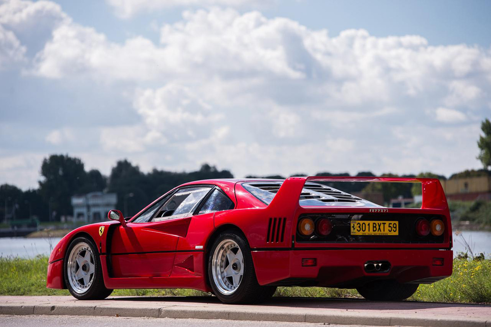Subasta Ferrari F40 Nigel Mansell (4)