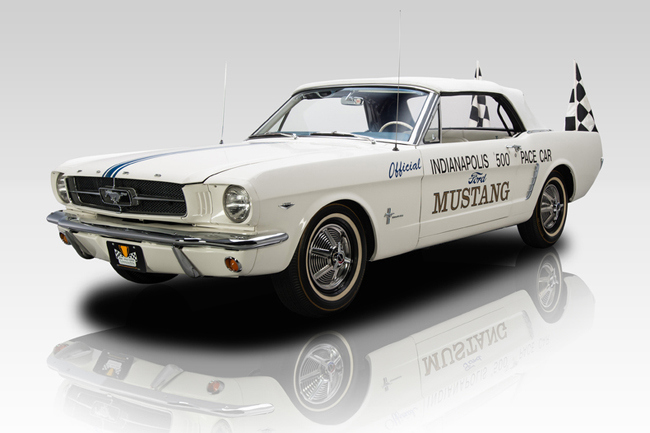 Subasta Ford Mustang Pace Car Indy 500 (1)
