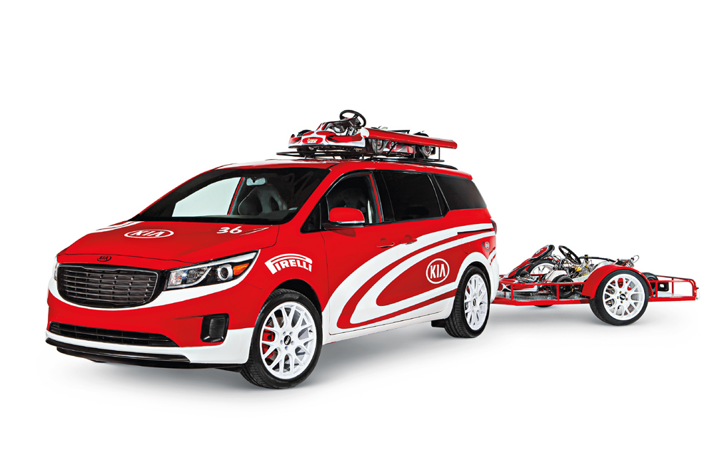 "Kia Motors America SEMA 2014 ""A Day at the Races"" -- Karting Sedona"