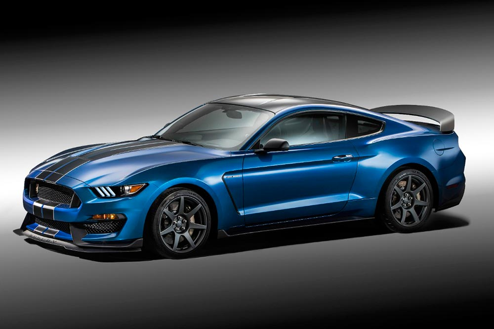 historia ford mustang Ford Shelby Mustang GT350R 2016 (1)