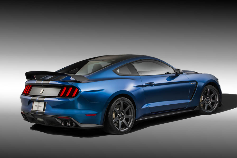 historia ford mustang Ford Shelby Mustang GT350R 2016 (2)