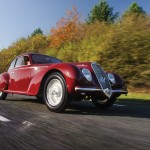Alfa Romeo 6C movimiento frontal 1