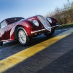 Alfa Romeo 6C movimiento frontal