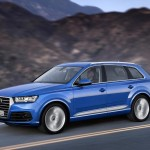 Audi Q7 2015 movimiento lateral
