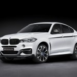 BMW X6 M Performance exterior frontal lateral