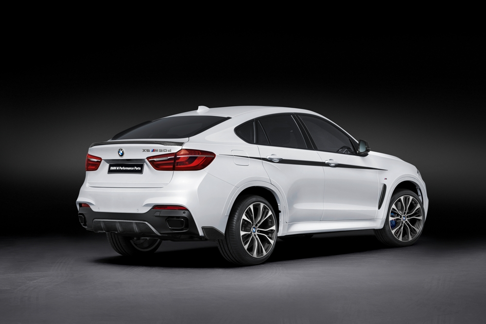 BMW X6 M Performance exterior trasera