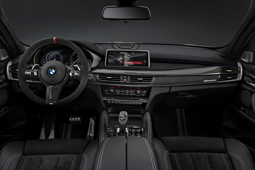 BMW X6 M Performance interior