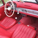 Mercedes-Benz 300 SL Roadster interior 6
