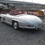Mercedes-Benz 300 SL Roadster lateral trasero