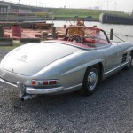 Mercedes-Benz 300 SL Roadster trasero lateral