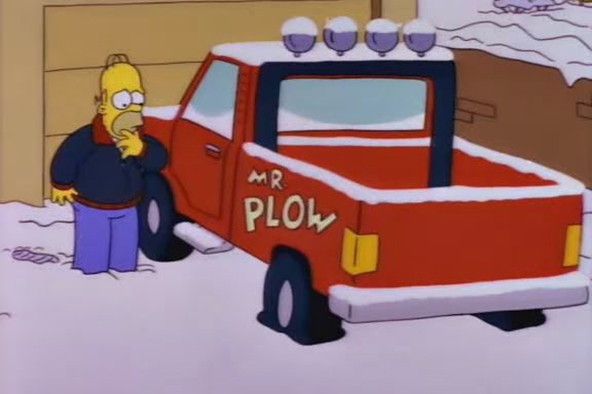 Mr. Plow-coches-los-simpson