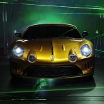 Willys AW 380 Berlinetta frontal