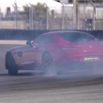 Vídeo: Chris Harris destroza neumáticos con el Mercedes-AMG GT S