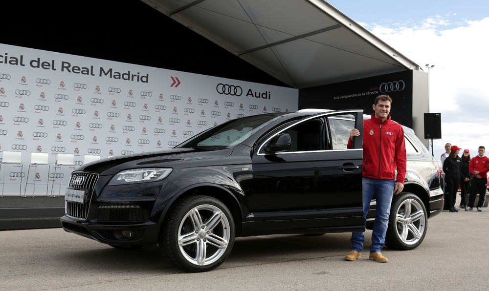 coches Audi 2015 Real Madrid