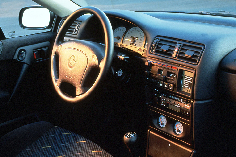 interior Opel Calibra DTM Edition 1995–96