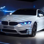 BMW M4 Iconic Lights Concept: con luces láser