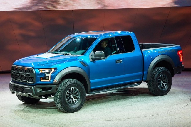 ford f 150 raptor 2015 el m s bruto del sal n de detroit periodismo del motor. Black Bedroom Furniture Sets. Home Design Ideas
