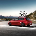 BMW 1 Series - Accessories 19'' double spoke 361 high-gloss black with red trim (09/2011)