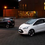 Ford Fiesta y Ford Ka Black and White Edition