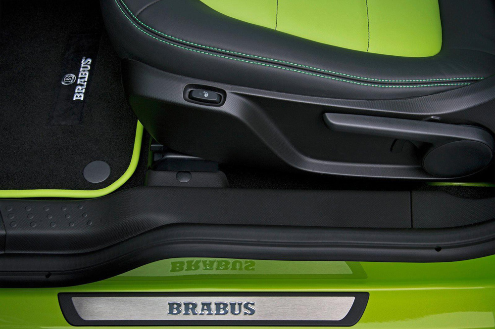 Smart ForTwo Brabus 2015 Zaga Interior