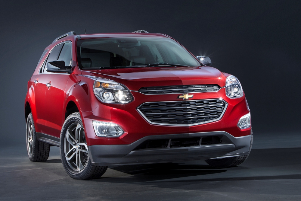 chevrolet equinox 2016 restyling para chicago periodismo del motor. Black Bedroom Furniture Sets. Home Design Ideas