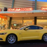 2015 Ford Mustang at Mel's Drive-In